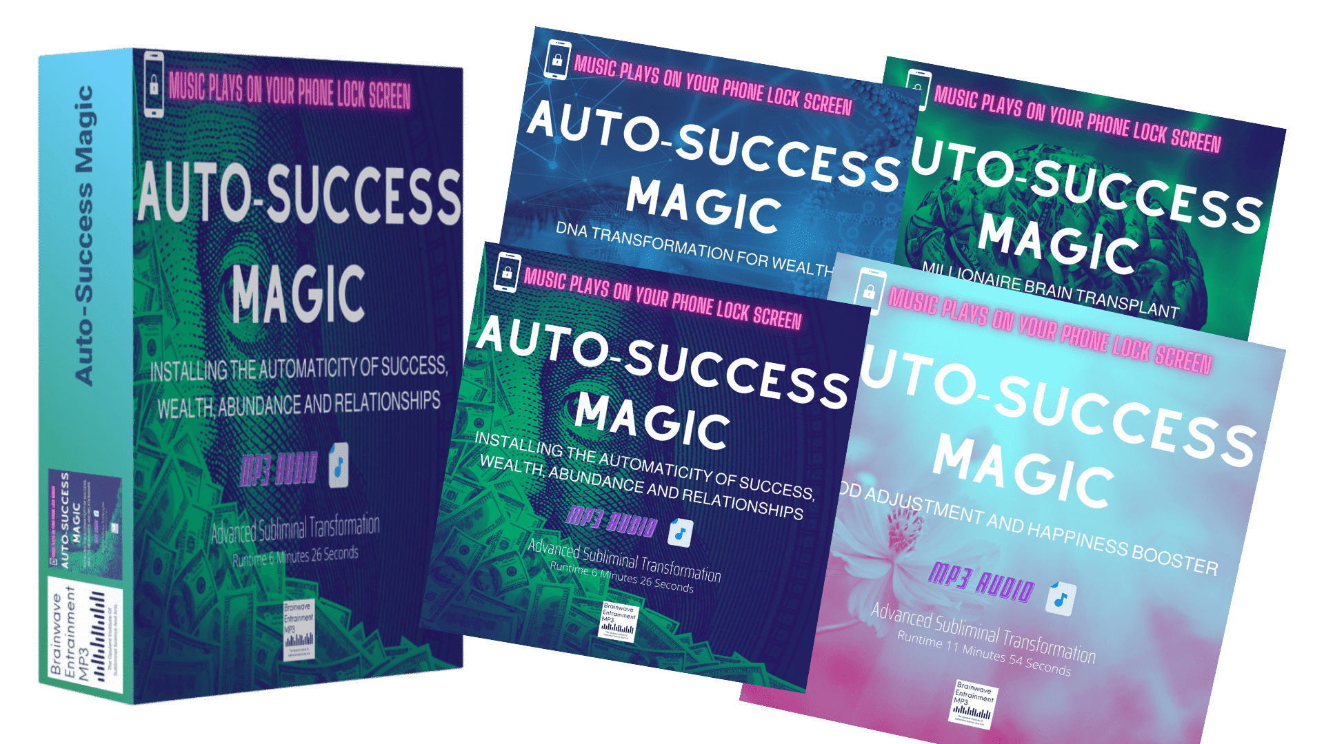Auto-Success Magic - Brainwave Entrainment MP3