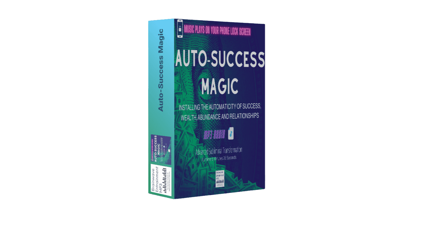 Auto-Success Magic - Imagine That Just By Listening To A Simple Audios You Can Flip On An Automatic Switch That Attracts Success And Wealth Into Your Life