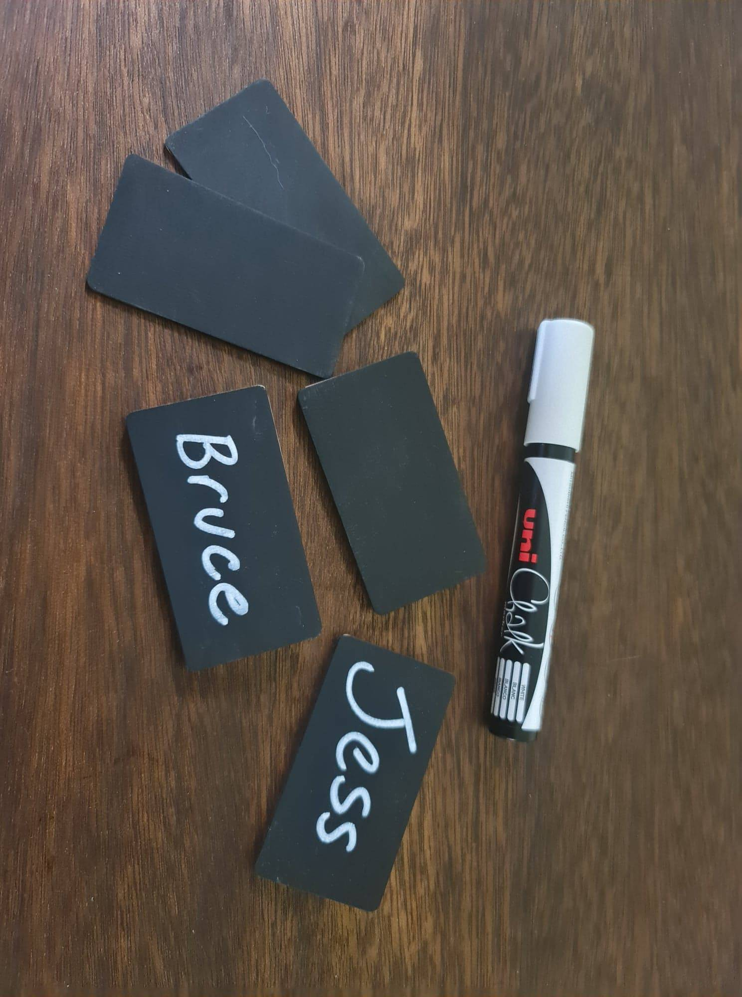 Blackboard Badges - any size