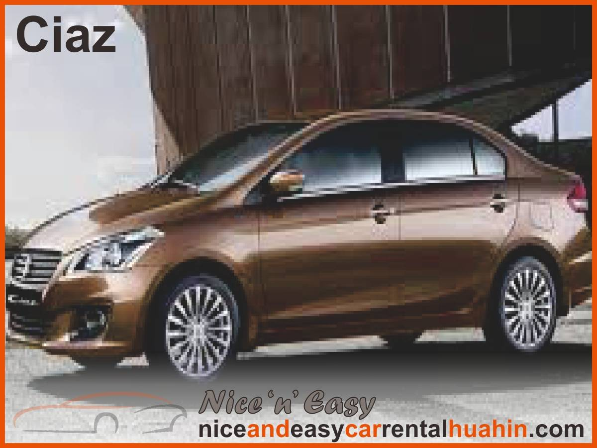 brown suzuki ciaz available for rent