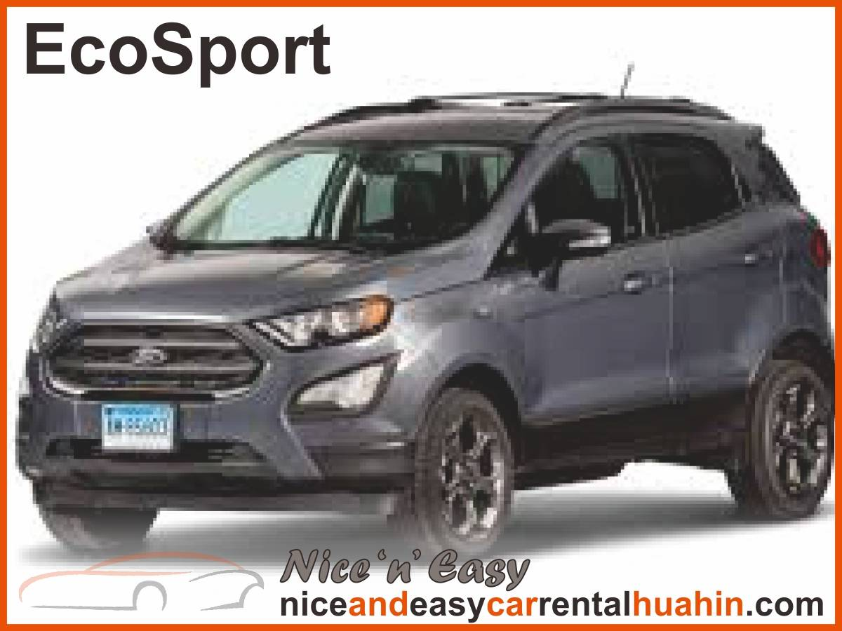 grey ford ecosport available for rent