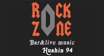 Black box with Logo of Rock Zone Bar Hua Hin