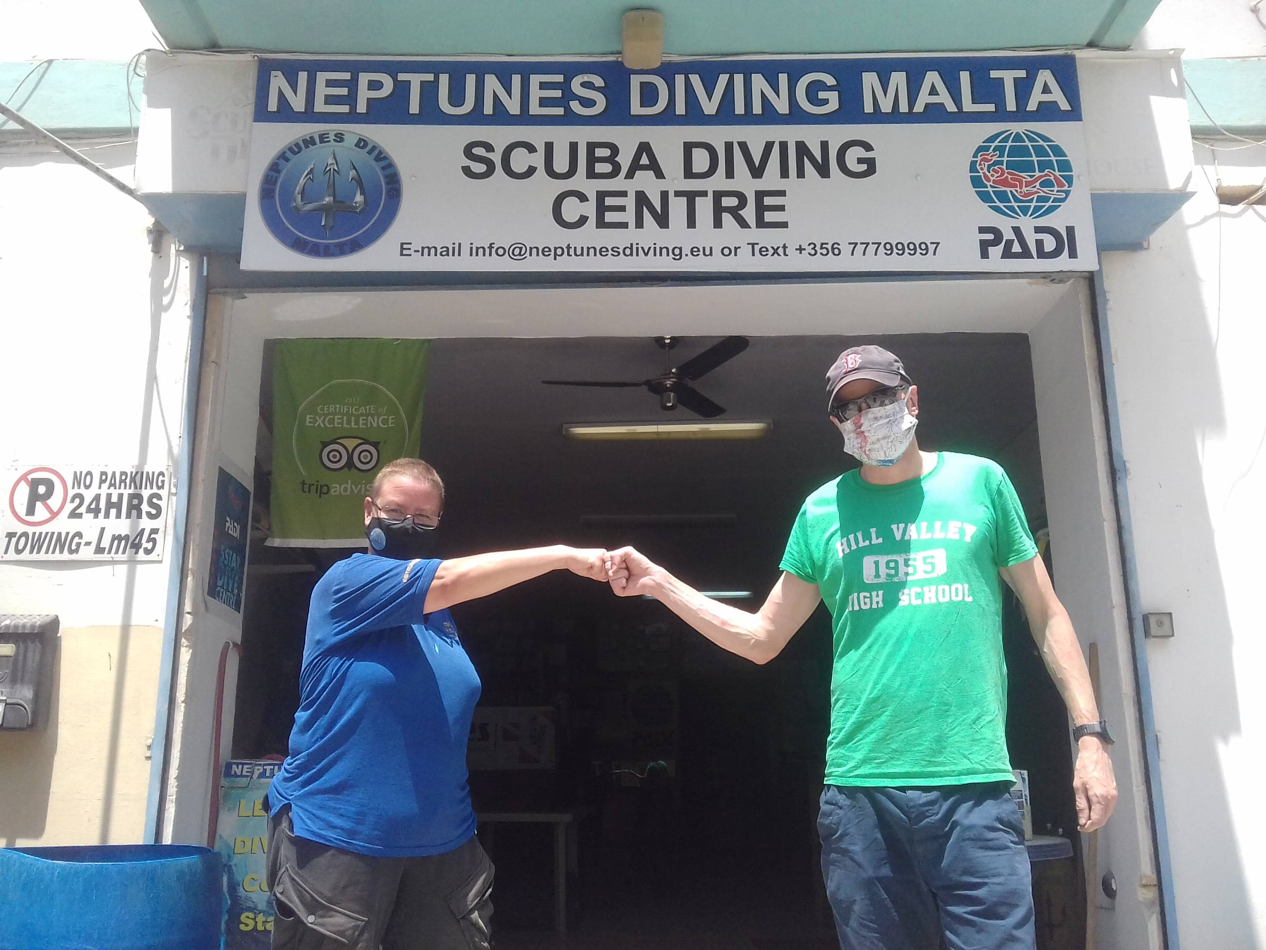 PADI Advanced Open Water Diver with Neptunes Diving Malta