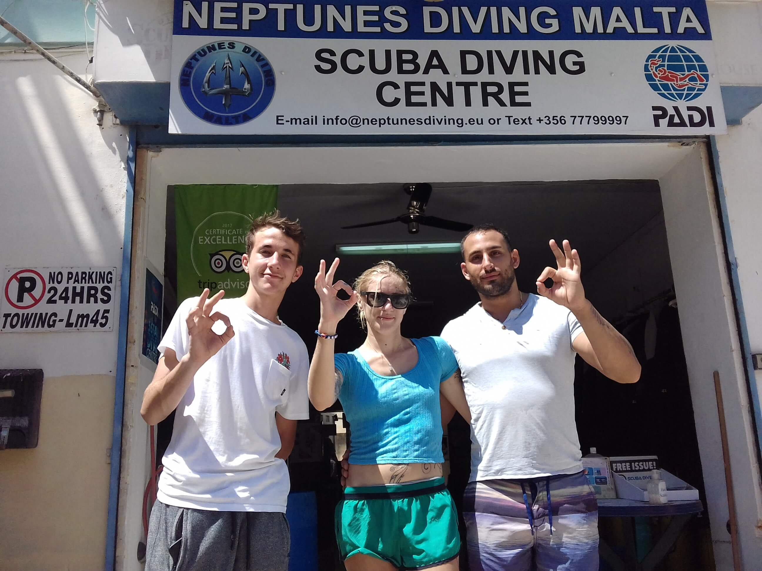 Discover Scuba Diving here at Neptunes Diving Malta