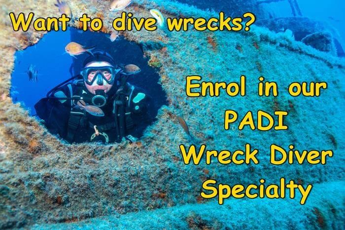 PADI Wreck Specialty