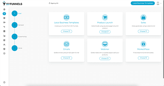 Video Agency Funnels Preview